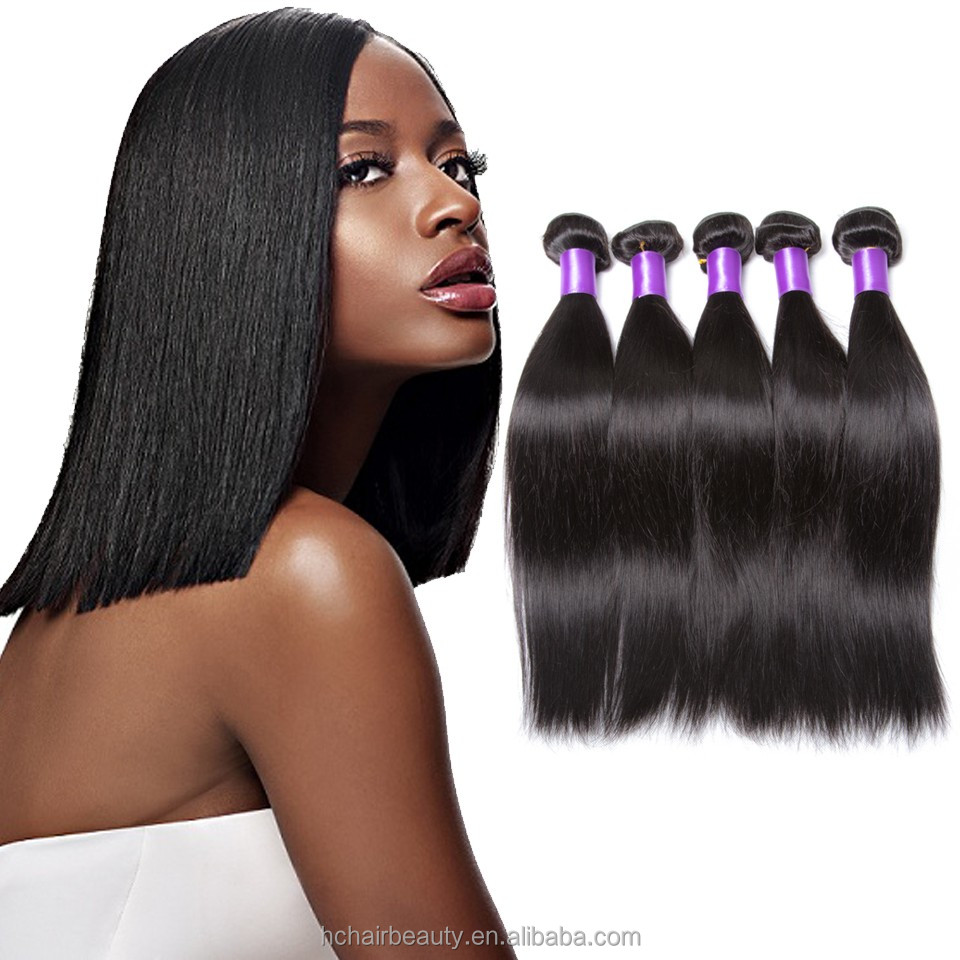 high quality ms lula hair extension malaysian virgin straight hair