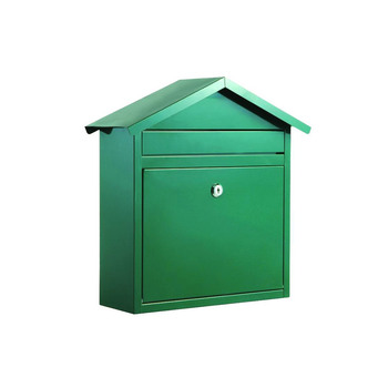 430 Stainless Steel Mailboxes - Green