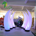LED Lighting Horns / Inflatable Cone Light for Party Decorations