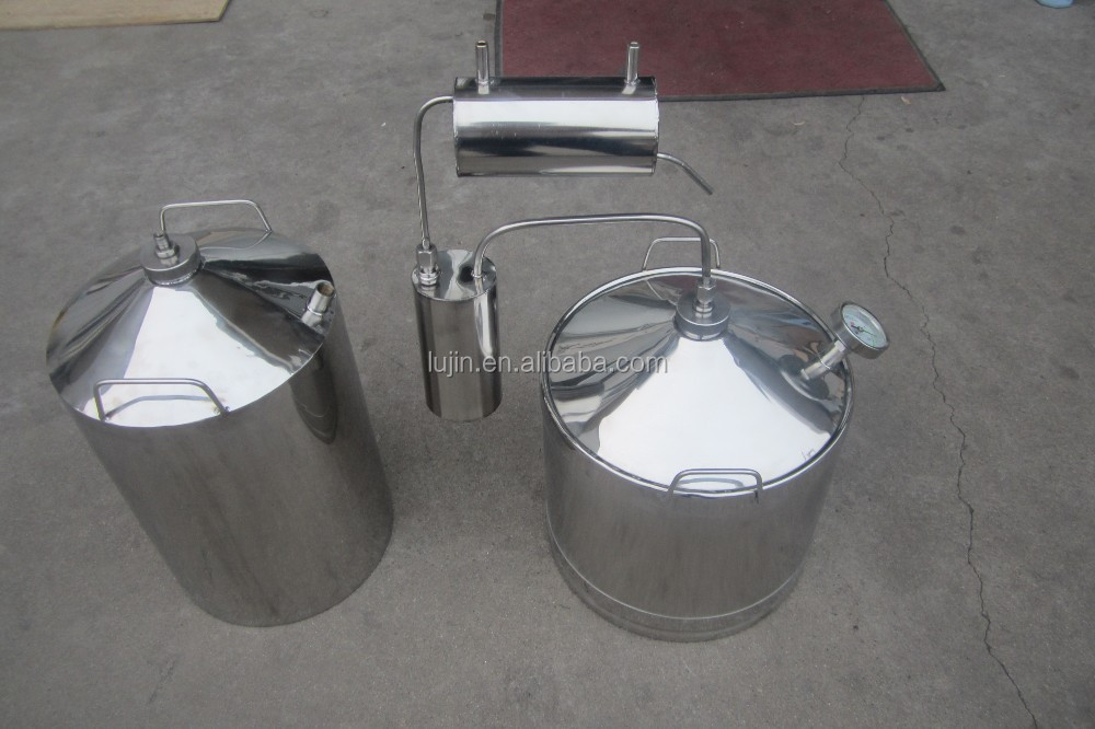 New Condition stainless steel milk can distiller