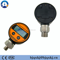 digital oxygen pressure gauge,oxygen safety pattern LCD pressure gauge