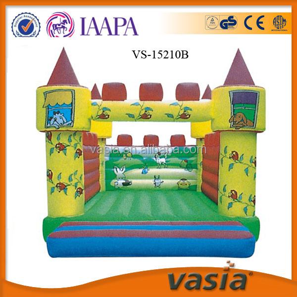 Big discount!!!funny trampoline castle with low price