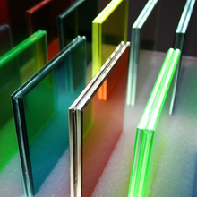 China good price 6.38mm 8.38mm 10.38mm milky white color F-green clear float laminated glass supplier