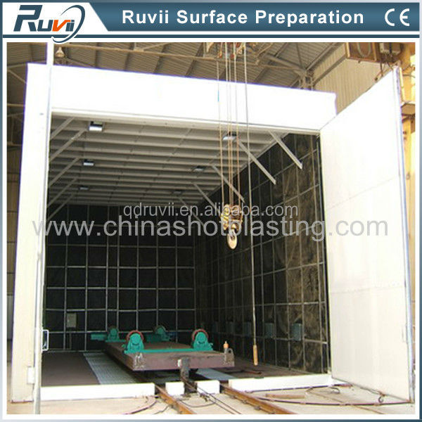 Sandblasting Booth Made of Shipping Container