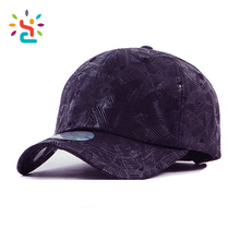Full Embossing fur baseball cap purple custom emboss patch button snpaback hat outdoor fishing hunting sports caps and hats men
