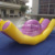 Neverland Toys hot selling inflatable water seesaw, inflatable totter for water sports