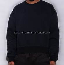 2015 Latest design for men black sweater