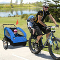 Kid Child Bike Trailer Children Baby Pram Bicycle Stroller Suspension Jogger