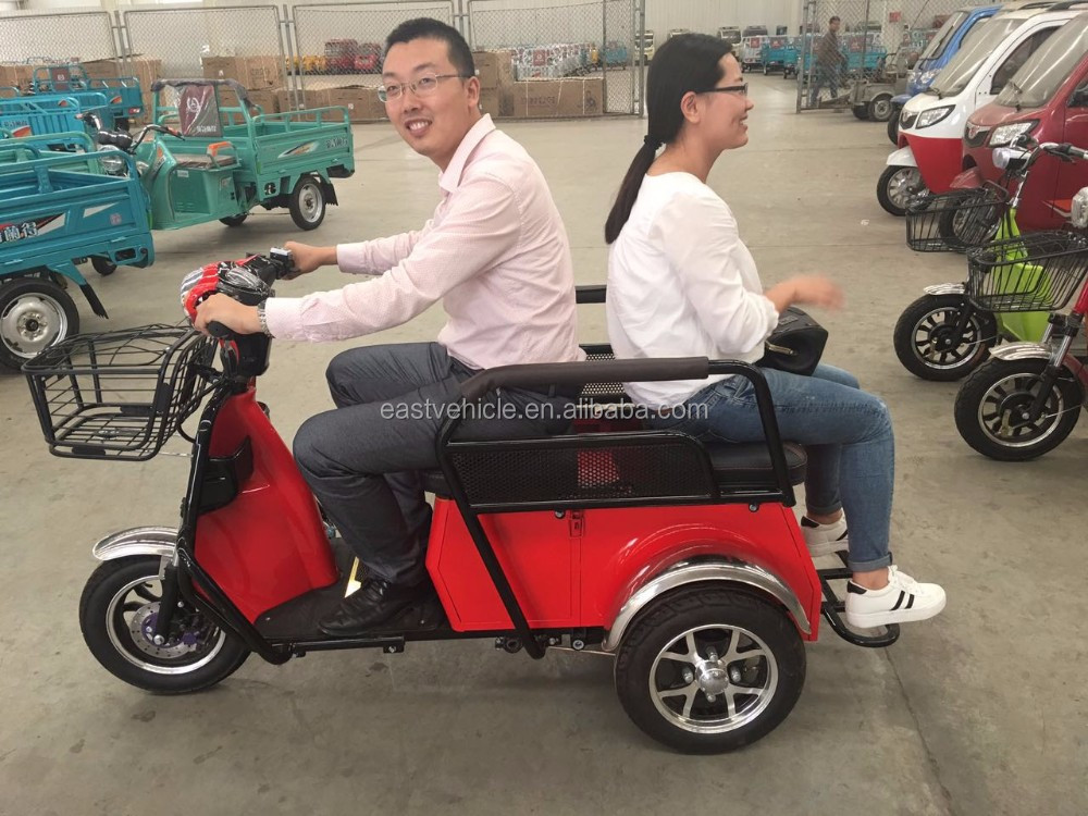 3 wheel electric trikes with eec Approved 48V 500W motor
