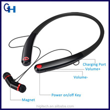 Cheap China Factory Custom Wireless Mobile Phone Accessories V4.1 Bluetooth Earpiece Magnet