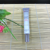 Beautiful design 3mm plastic test tube packaging with metal cap