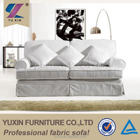 Classical Retro Fabric 3 Seater Sofa