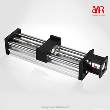 Aluminum linear bearing block motorized linear guide for xyz linear stage