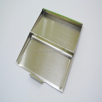 metallic aluminum business credit id sd card case wallet