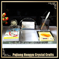 2014 new fashion crystal desk organizer