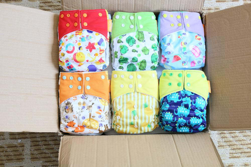 HappyFlute one size diaper cover waterproof colored cloth diaper reuasble diapers