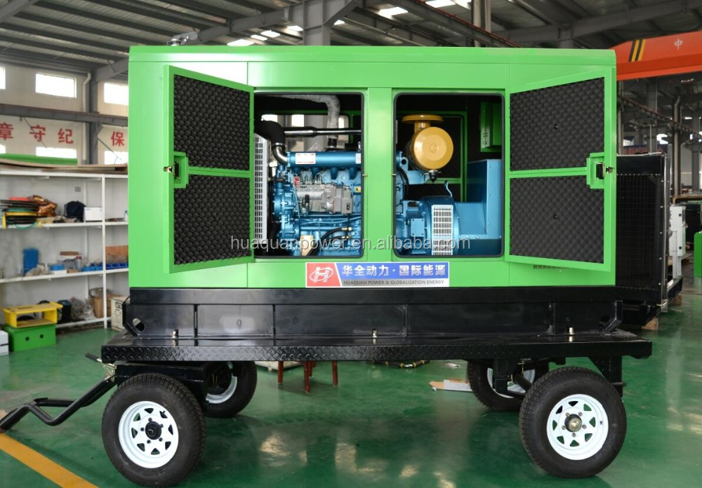 Sound proof diesel generator 150Kva portable generador electric