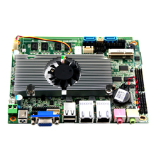 <strong>Z</strong>-3.5 inch Embedded fanless motherboard D2550 Onboard 2/4GB RAM 6*COM 6*USB 2*LAN support WIFI SSD/HDD Optional