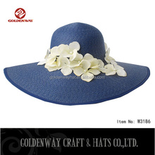 foldable wide brim sun visor hat for women