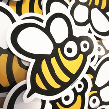 Custom Cute Die Cut Private Design PVC Sticker Vinyl Glossy Finish Label Printing With Glossy Finish