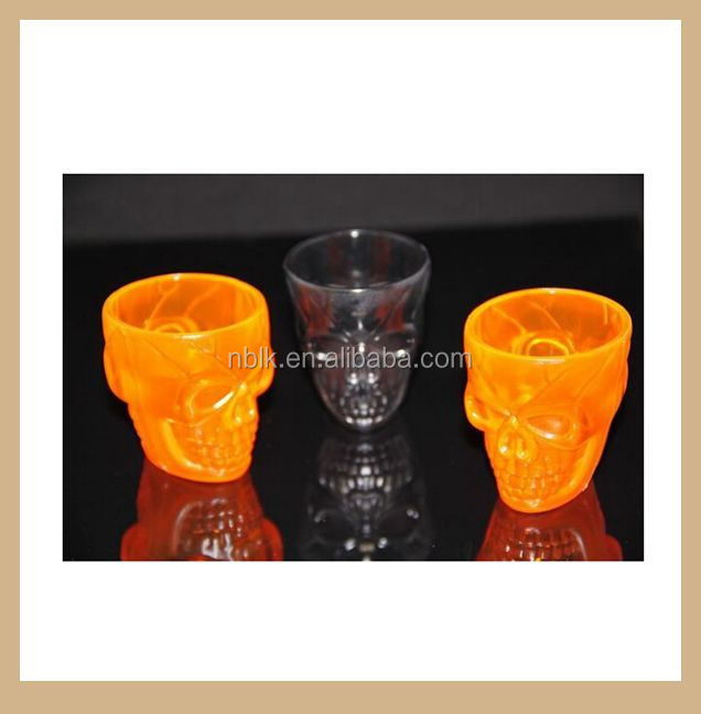 Hot Sales Plastic Skull Beer Cup