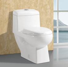 ceramic bathroom one piece wash down s trap toilet bowl