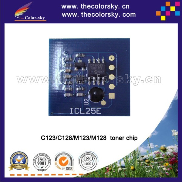 (TY-X123t) reset laser printer toner chip for xerox WorkCentre wc C123 C128 M123 M128 <strong>C</strong> <strong>123</strong> 128 M <strong>123</strong> 128 bk 30k pages