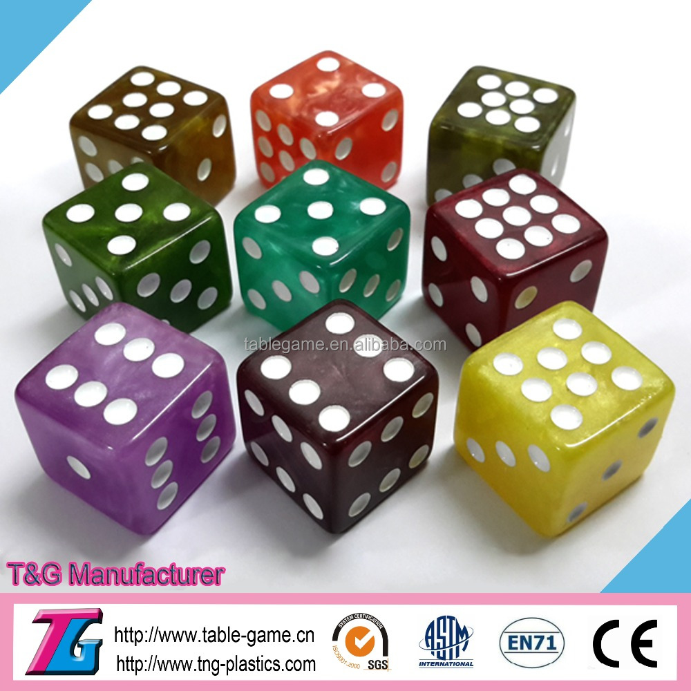 2017 the most popular educational game dice