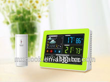 YD8230A-3 Digital Type and ABS Material color changing projection alarm clock