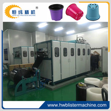 thermoforming plastic pot making machine price