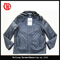 Manufactory factory winter heavy pu leather motorcycle jackets