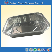 China factory price greaseproof 800ml food catering bakery use aluminum foil food container