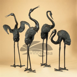 Popular Design flamingo statue for Garden Decoration (Size can be Customized)