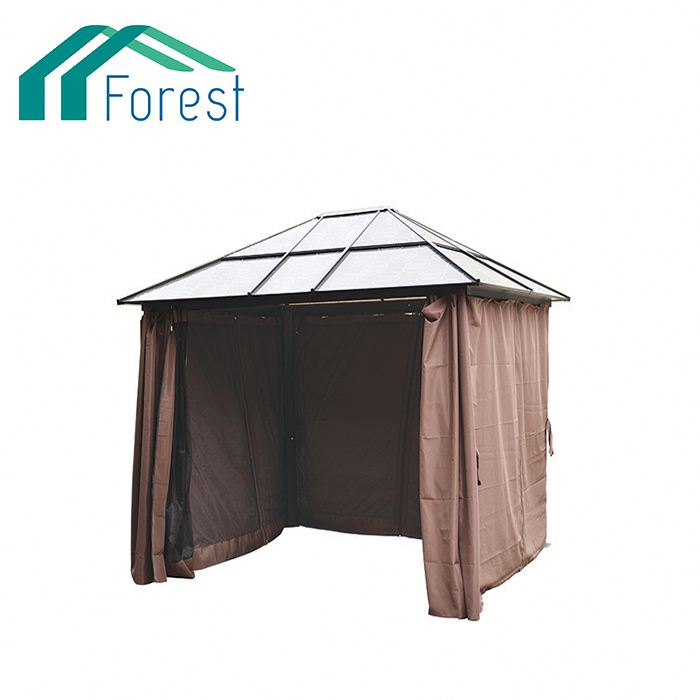Trade Assurance ODM Available metal roof gazebo