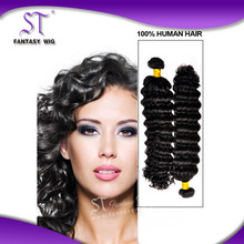 BEST guangzhou manufacturer 5A grade natural color curly hair extension for fashion girl or women