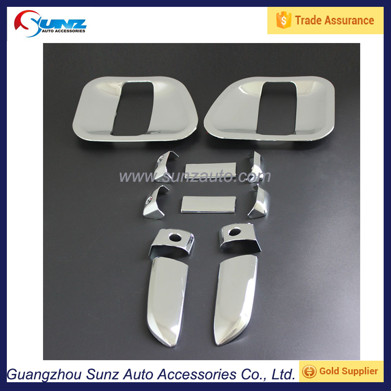 door handles cover for toyota hiace 2014 abs chrome door handle cover hiace alibaba china car accessories