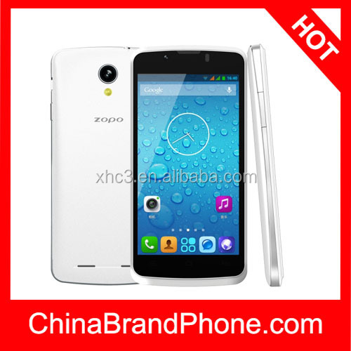 ZOPO ZP590 4GB, 4.5 inch 3G Android 4.4 Smart Phone, MTK6582M Quad Core 1.3GHz, RAM: 512MB, Dual SIM, WCDMA & GSM(White)