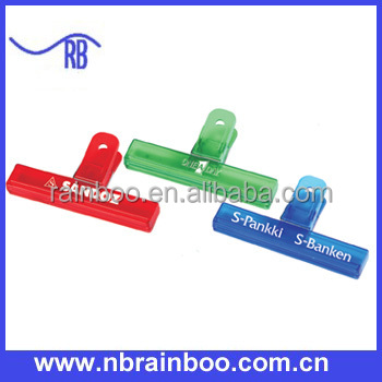 6 inch offer used Plastic chip clip for promotion AB099