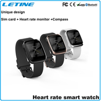 smart bracelet 2015 WP08 unique design smart watch phone sim card with heart rate monitor watch phone android bluetooth watch