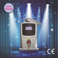 Portable Laser Machine T500 for Removing Tattoo and Removing Colored Eyeline CE Approved