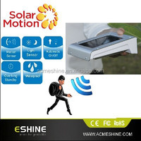 motion outdoor led solar lights, surface mounted outdoor led wall light, solar light lamp model