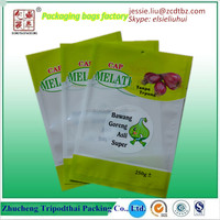 Vaccum packed Plastic Fruit And Vegetable Bags