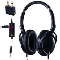 Headband Active Noise Cancellation Headphone With Heavy Bass Big ...