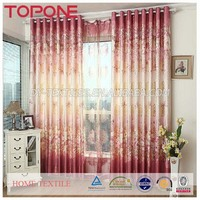 New design professional polyester home useful window curtain models