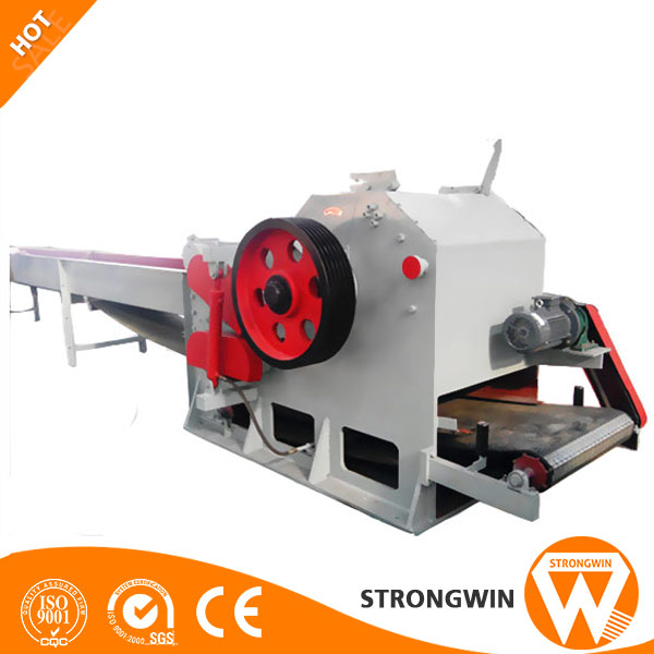 Strongwin mobile small wood chipper for sale