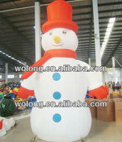 2013 large Inflatable Snow man advertising for hot sales
