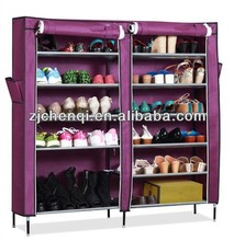 6 tiers double doors shoe cabinet rack with cover organizer TM-1201