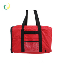 Pizza bag custom wholesale holds up to 18 inch or 24 inch thermal pizza bag