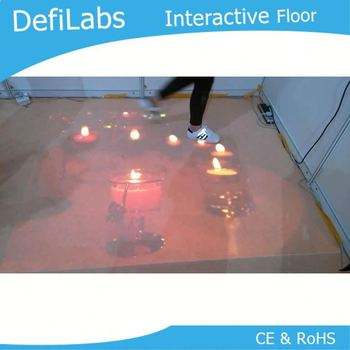 3D Interactive floor system,outdoor projection system,bus lcd advertising display