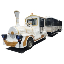 China kids fairground attraction backyard electric train for sale